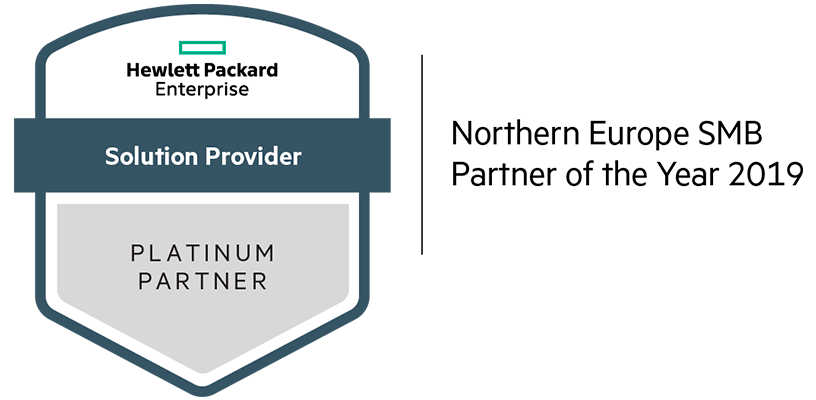 Northern Europe SMB Partner of the Year in 2019 logo